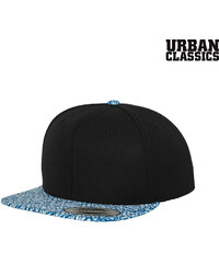 Urban Classics Flexfit Snapback-Cap mit Print-Schirm