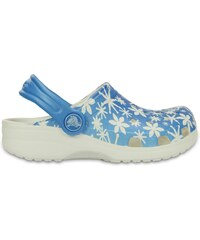 Crocs Clog Girls Ice Blue Classic Snowflake