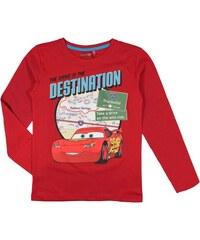 E plus M Chlapecké tričko Cars - červené