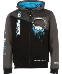 mikina No Fear OTH Hoody Junior Black/Blue C&S
