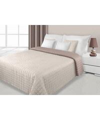 Přehoz na postel DAFNE 220x240 cm krémová/béžová Mybesthome