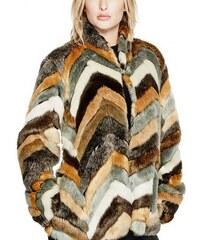 Kožich Guess Babita Faux-Fur Coat ad778e5b93