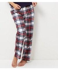 New Look Bunt karierte Pyjamahose