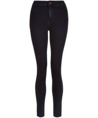 New Look Teenager – Marineblaue superenge Skinny-Jeans mit hohem Bund