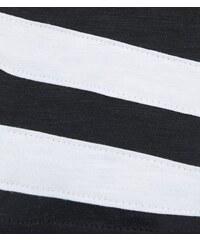 New Look Teenager – Top mit Streifen an den schwarzen Raglanärmeln