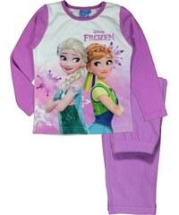 E plus M Dívčí pyžamo Frozen - tmavě růžové