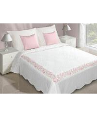 Přehoz na postel ANGELICA 220x240 cm bílá Mybesthome