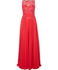 Jora Collection Abendkleid mit floraler Spitze und Ziersteinen