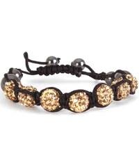Divers Bracelets Bracelet Shamballa best noir, or