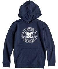 DC Shoes Sweat-shirt enfant Sweat Capuche Dark Ring Blue Iris Jr -