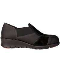 Slip on IE9654G 001 Slip-on Schuhe Damen Wildleder /leder Schwarz von Cinzia Soft