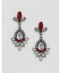 Nylon - Auffällige Ohrringe - Silber