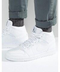 Nike Jordan - Air Jordan 1 - Baskets - Blanc 554724-110 - Blanc