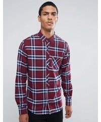Threadbare - Mace - Chemise à carreaux - Rouge