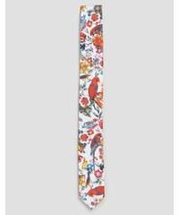 Devils Advocate - Cravate à imprimé perroquet - Bleu