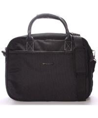 Unisex taška brašna přes rameno černá - Enrico Benetti 7111 černá