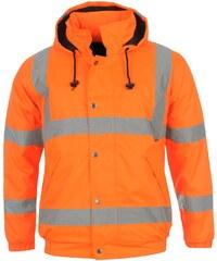 Reflexní bunda Dunlop pán. oranžová