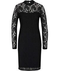 Černé krajkové šaty PEP Feline