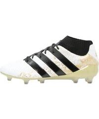 adidas Performance ACE 16.1 PRIMEKNIT FG Chaussures de foot à crampons white/core black/gold metallic