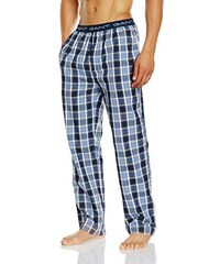 GANT Herren Schlafanzughose Pyjama Pant Check Logo, Blau (Nightfall Blue 416), XX-Large