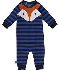 Fred's World by Green Cotton Baby-Jungen Body Fox Stripe Bodysuit
