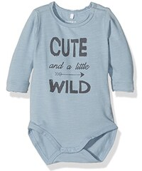 NAME IT Baby - Jungen Nitlild Ls Body Mznb