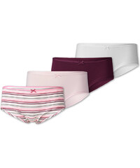C&A Hipster - 4 Pack in weiß / Pink