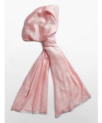 Dámská pašmína Calvin Klein pink