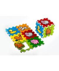 Teddies Pěnové puzzle Moje první zvířátka - 6 ks