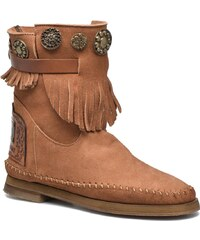 Karma of Charme - Way Belt Buf - Stiefeletten & Boots für Damen / braun