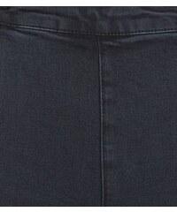 New Look Teenager – Schwarze Skinny Jeans mit Knopfleiste