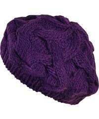Art of Polo Pletený baret fialový