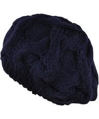Art of Polo Pletený baret modrý