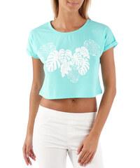 Camaïeu T-shirt cropped imprimé