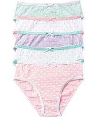 bpc bonprix collection Slip (5er-Pack) in weiß für Mädchen von bonprix