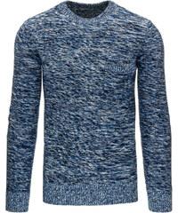Coolbuddy Pánský melírovaný svetr s kapsou 9364 Velikost: XS