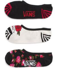VANS Sada dámských kotníkových ponožek Flo-Ral Rider 7-10 3PK VA2YZVB42