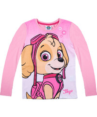 Paw Patrol Langarmshirt rosa in Größe 98 für Mädchen aus 100% Baumwolle