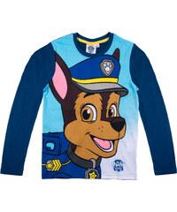 Paw Patrol Langarmshirt marine blau in Größe 98 für Jungen aus 100% Baumwolle