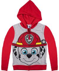 Paw Patrol Sweatshirt mit Kapuze rot in Größe 98 für Jungen