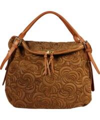 kožené kabelky přes rameno Festa Camel