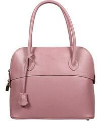 odolná kabelka z kůže Intorna Porposa Chiaro