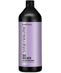 MATRIX Total Results So Silver Shampoo 1000ml - šampon pro blond a melírované vlasy