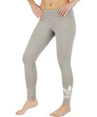 adidas Pohodlné bavlněné legíny šedá 42