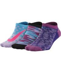 Dětské ponožky Nike 3P GirlS Graphic Ltw Ctn No S SX5004-900