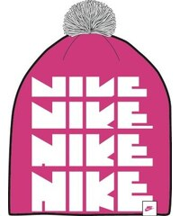 Čepice Nike Futura Pom Beanie Yth 805050-616