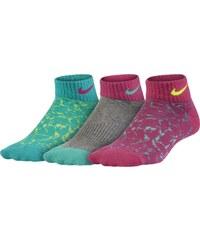 Ponožky Nike 3P Girls Graphic Ltw Ctn Low SX5265-900