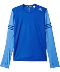 Pánské tričko adidas Response L/S Tee M modrá
