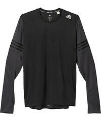 Pánské tričko adidas Response L/S Tee M černá