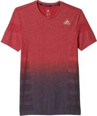 Pánské tričko adidas Primeknit Wool Dip Dye Tee Men červená